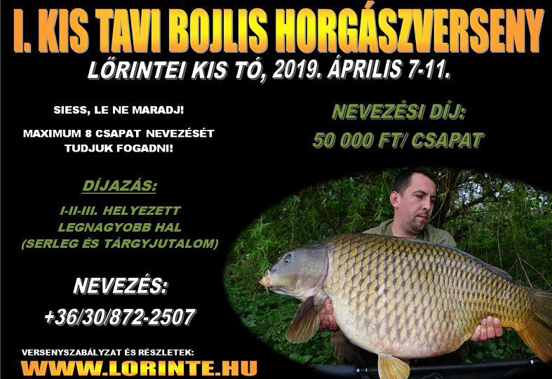 I. Kis Tavi Bojlis Horgászverseny