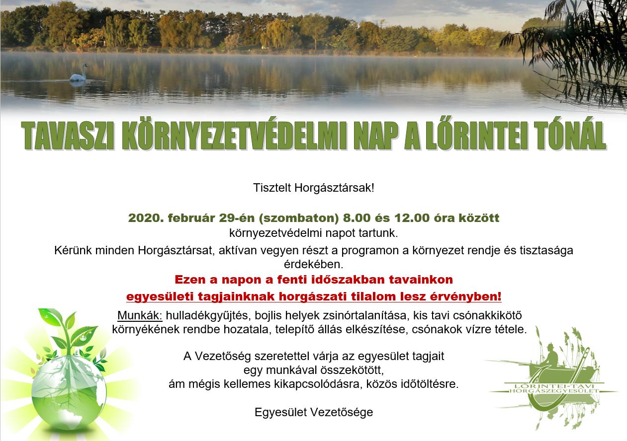 Környezetvédelmi nap 2020.02.29.